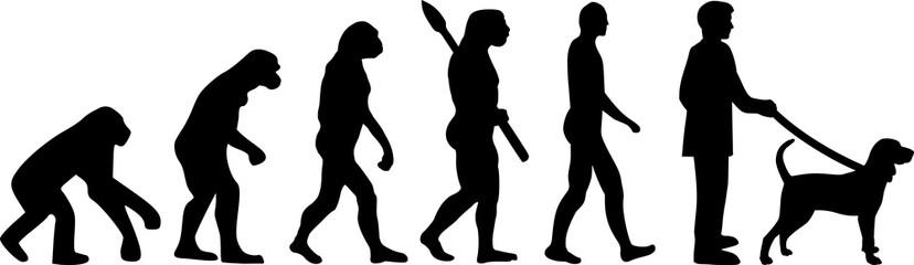 Black and Tan Coonhound evolution
