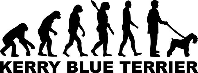 Kerry Blue Terrier evolution word