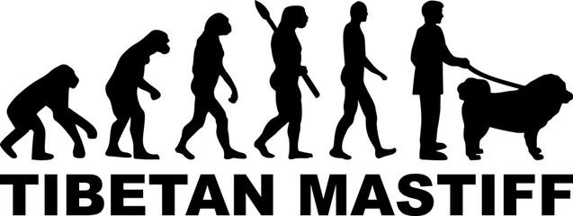 Tibetan Mastiff evolution word