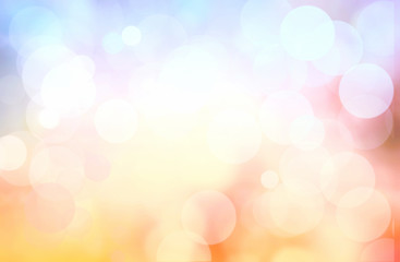 Colorful tender abstract background blur.Holiday wallpaper.