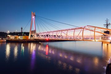 Pedestrian Bridge in Ustka