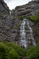 Wasatch Mountain Waterfall