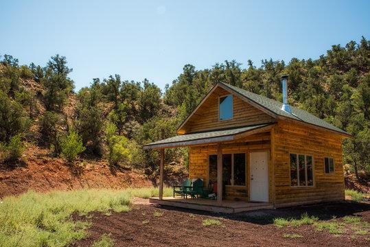 Small cabin retreat in Southern Utah wilderness