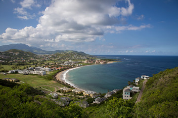 View from Timothy Hill in St. Kitts