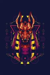 Anubis sacred geometry