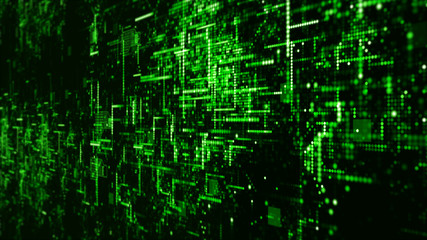 Digital Technology Network Data and Communication Concept Abstract Background