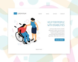 Disabled People Web Design