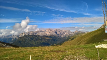 An amazing caption of the mountains in Trentino, with a great views to the dolomites of Brenta in summer days