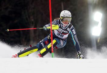 Alpine Skiing - Alpine Skiing World Cup - Women's Slalom