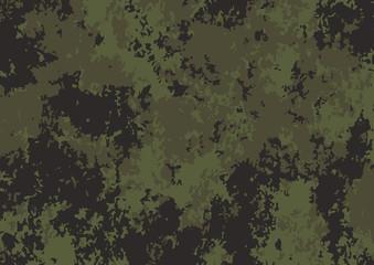 Fototapeta Army green camouflage pattern background. Vector illustration eps 10