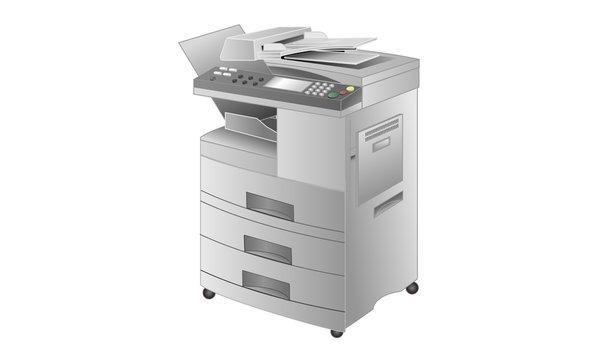 レーザープリンタ・コピー機・FAX複合機(2型)
