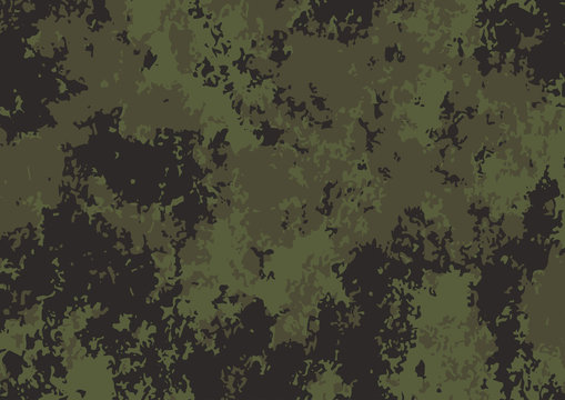 Army green camouflage pattern background. Vector illustration eps 10