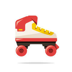 Roller skates vector isolated