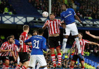 FA Cup Third Round - Everton v Lincoln City