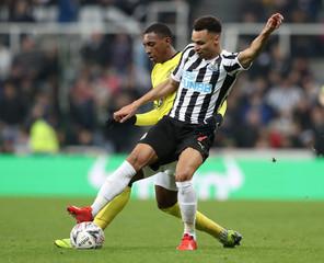 FA Cup Third Round - Newcastle United v Blackburn Rovers