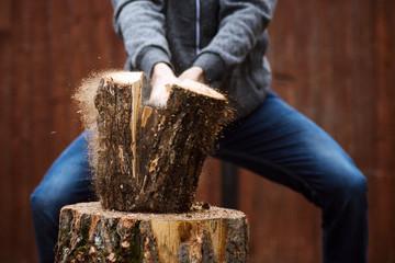 Tree Runner Klettergurt : Tree climbing spike set with adjustable pads safety belt lanyard