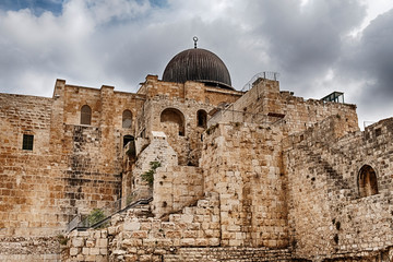 Al-Aqsa Mosque On The Temple Mount