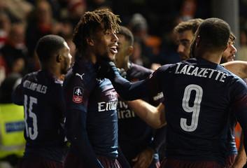 FA Cup Third Round - Blackpool v Arsenal