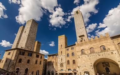Piazza del Duomo di San Gimignano