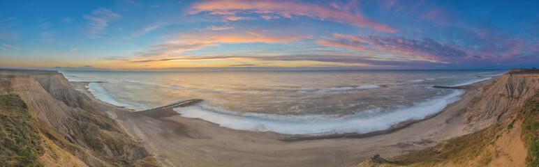 Steilküste an der Nordsee