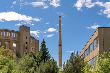 Industrieruinen in Dresden