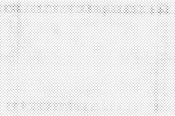 Grunge Halftone Vintage Vector. Ink Dots Texture Design Element. Black-White Abstract