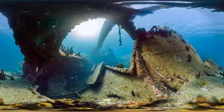 360 Shipwreck