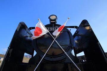 蒸気機関車 旧豊後森機関庫 大分県玖珠郡 日本