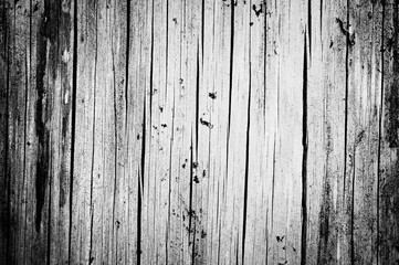 Black grunge weathered wooden texture. Abstract background