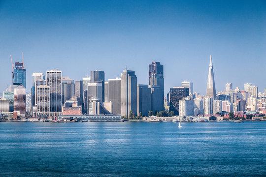 San Francisco skyline, California, USA