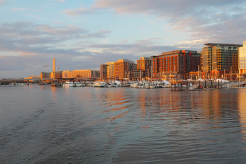 Boats and buildings at the DC Southwest Waterfront