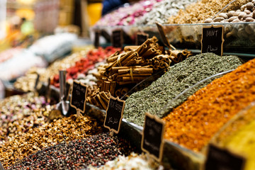 spices in the Grand Bazaar (Istanbul)