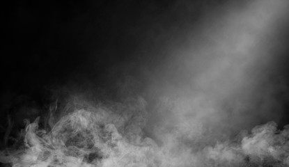 Abstract smoke with light effect. Lighting spotlighting texture overlays.