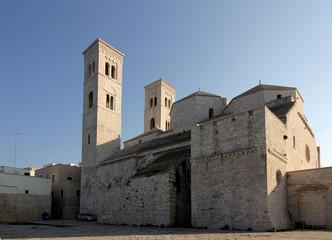 la Cattedrale di Molfetta (Puglie)