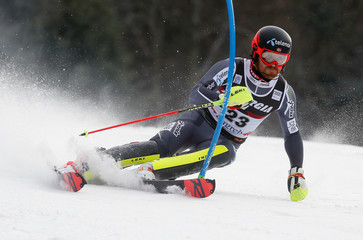 Alpine Skiing - Alpine Skiing World Cup - Men's Slalom