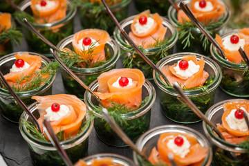 Fingerfood - herzhafte Snacks für Party und Buffet