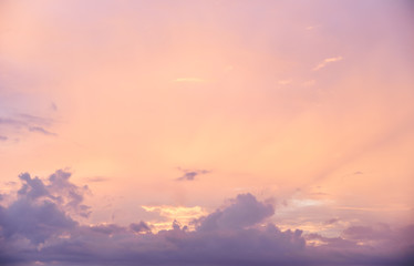 sky sunset view landscape beautiful