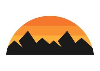 mountain logo landscape