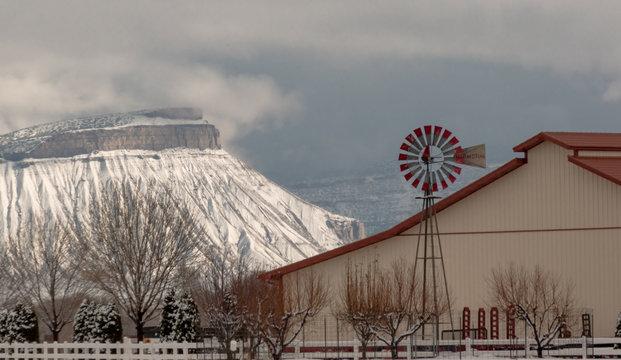 Ranch Under Mt. Garfield Mesa County Colorado