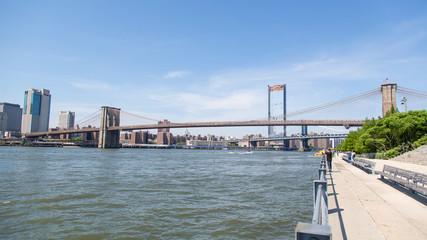 Partial view  Brooklyn Bridge