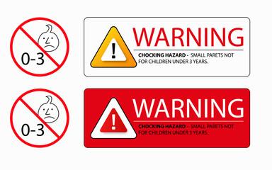 choking hazard warning sign