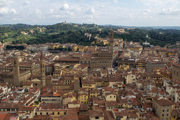 Cityscape, Florence roof tops