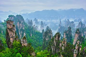 Zhangjiajie mountains, China Fototapete