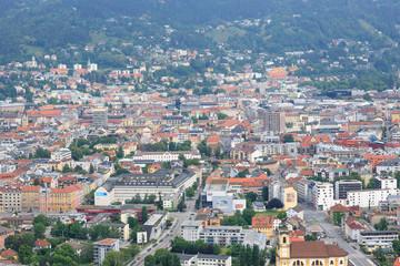 Innsbruck aerial view