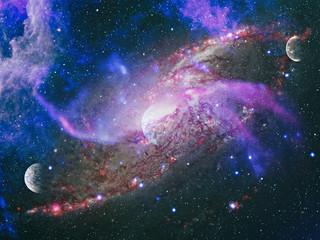 Galactic Pyrotechnics on Display