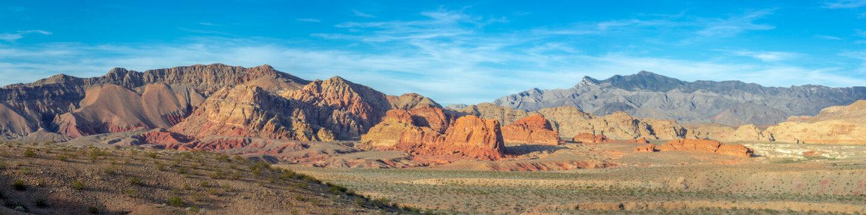 Gold Butte Bitter Ridge Panorama, Clark County, Nevada