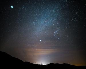 Coyote Spring Nebulocity Milky Way near Reno, Nevada