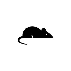 Mouse icon in trendy flat style isolated on background. Mouse icon symbol for your web site design Mouse icon