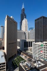 Vertical view of buildings