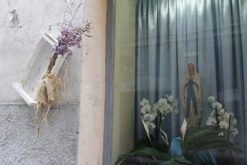 Virgin Mary. Ventimiglia, Italy.